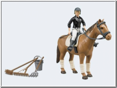 BRUDER 62505 bworld Figurenset Reiten