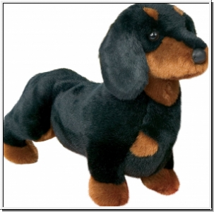 Cuddle Toys 2002 Spats DACKEL