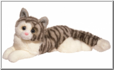 Cuddle Toys 283 Smokey GRAUE KATZE
