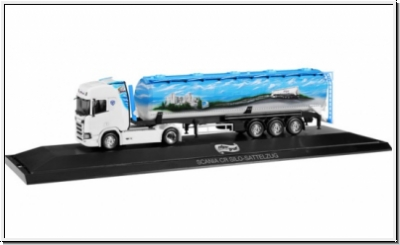 HERPA Scania CR HD Silo-Sattelzug