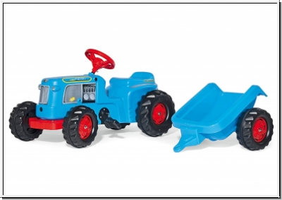 Rolly Toys Kiddy Classic mit Anhänger