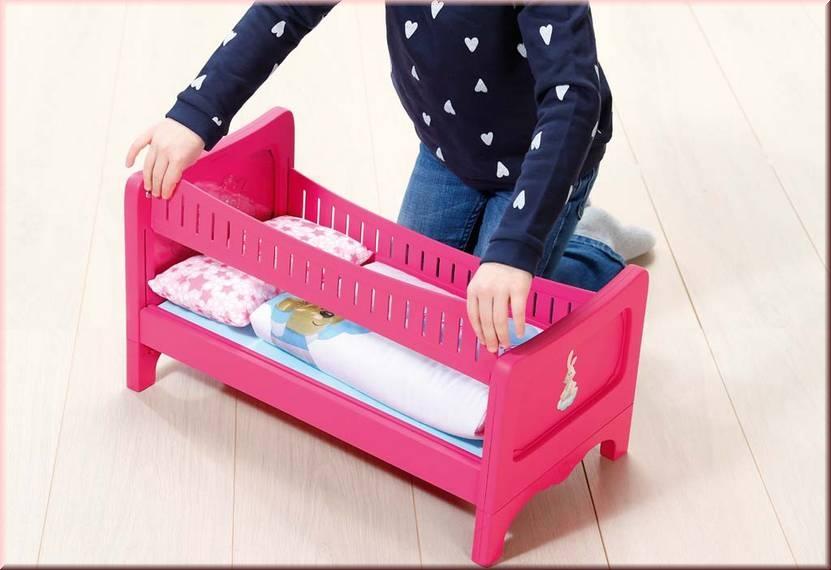 Baby Born 822289 Bett Baby Born Bett Baby Born P Gut Und Gunstig 24