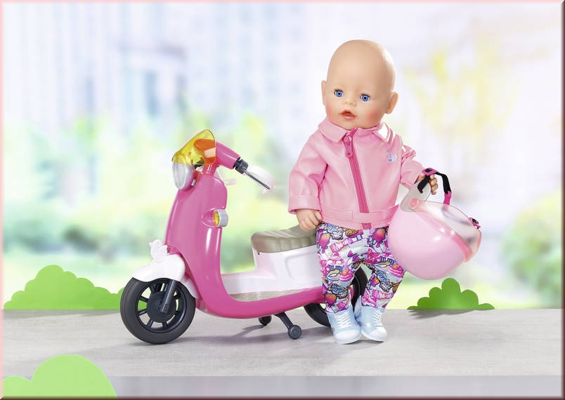 1efb5ea5 Baby born 825259 City Deluxe Scooter Outfit - Gut und Günstig 24