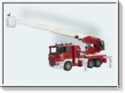 Bruder 03590 Scania R-series aerial ladder truck with water pump