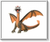 Bullyland 75595 Drache sitzend orange