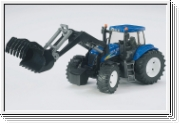 BRUDER 03021 New Holland T8040 mit Frontlader