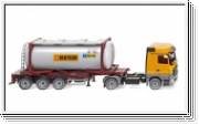Wiking Tankcontainersattelzug Swap (MB Actros)