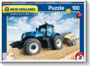Schmidt Puzzle, New Holland  Big Baler 1290,100 Teile