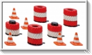 SIKU 6854 Accessories tyre stacks and pylons