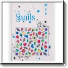 SNAILS 3 D Nail Tatoo Sticker Candy Miracle