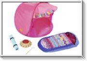 BABY BORN 823743 Play&Fun Camping Set