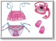 BABY BORN 823750 Play&Fun Deluxe Schwimm Set
