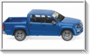 Wiking VW Amarok GP Highline - ravennablau met. matt