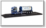 HERPA Scania CS 20 HD Tankcontainer-Sattelzug